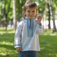 """Вишиванка для хлопчика """"Ранкова стежка"""" (kolos_014)"""