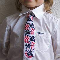 """Краватка для хлопчика """"Калиновий сад"""" (kolos_022)"""