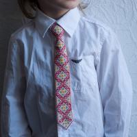 """Краватка для хлопчика """"Гуцулія"""" (kravatka_03)"""