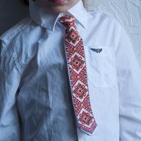 """Краватка для хлопчика """"Гуцулія 2"""" (kravatka_10)"""