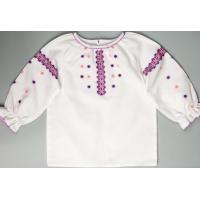 """Сорочка для дівчинки """" Бузковий цвіт"""". (kolos311)"""