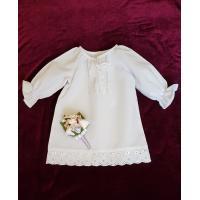 """Хрестильна сукня """"Мамина ніжність"""". (kolos362)"""